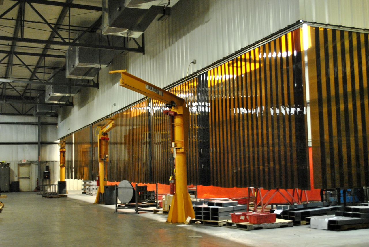 services precise fabrication welding bays